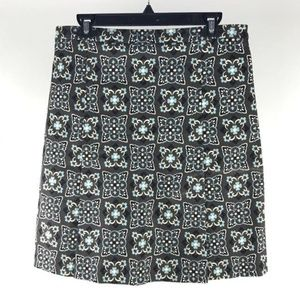 Moschino Cheap and Chic Taupe Gray Teal Skirt